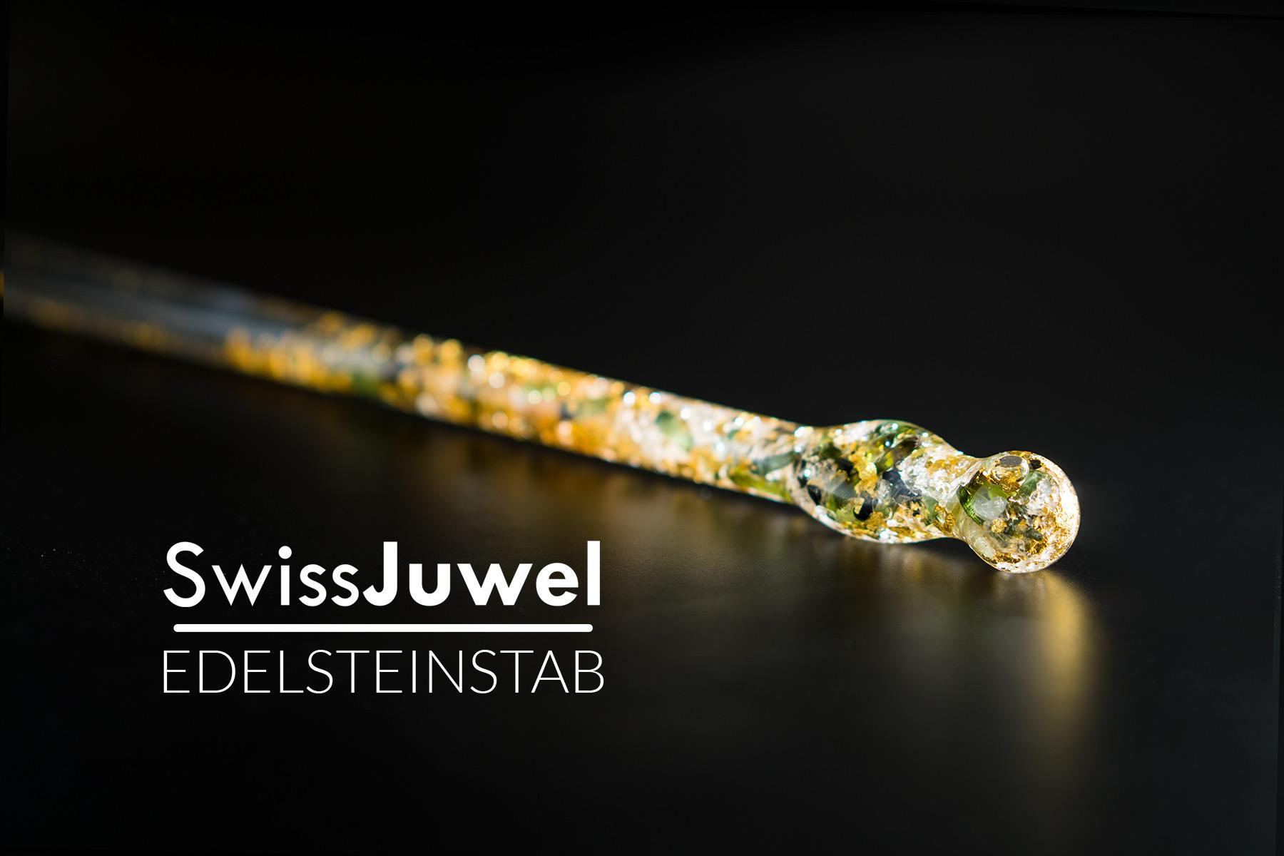 Produktfotografie Edelsteinstab SwissJuwel