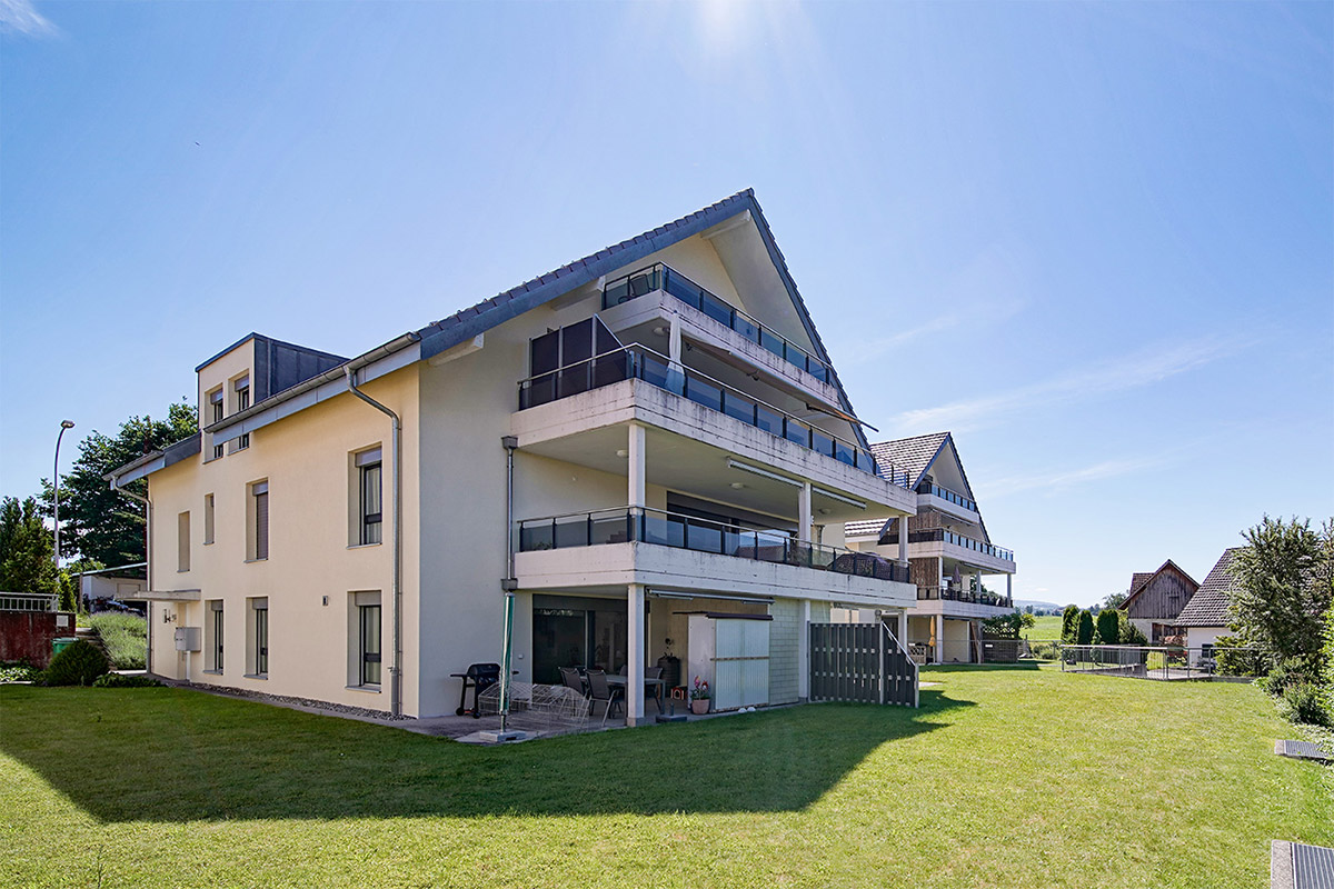 Immobilienfotografie Stockwerk-Wohnung