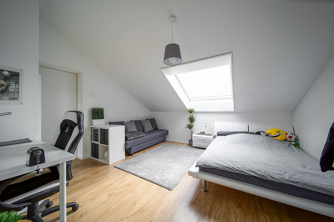 Immobilienfotografie Aargau EFH Kinderzimmer