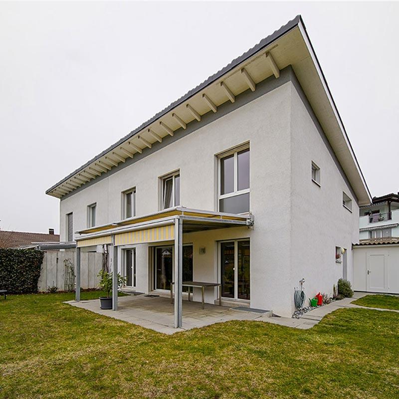 Aussenaufnahme Immobilienfotografie Einfamilienhaus